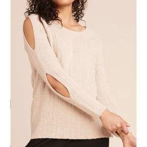 BB Dakota Underneath it all Sweater Sand Sz M NWT